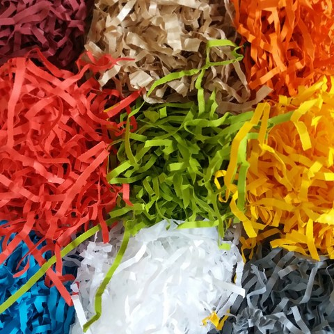 wiórka papierowe kolorowe