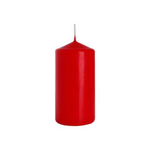świeczka walec czerwona