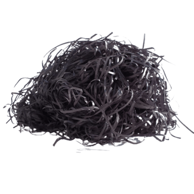 Wiórka papierowe czarne