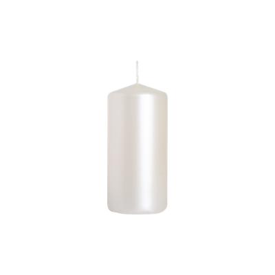 świeca walec 50/100 białyperłowy