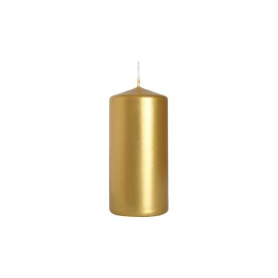 świeca walec 50/100 złotymetalik