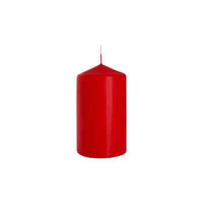 świeca walec 70/120 czerwony