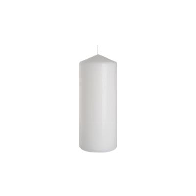 świeca walec 80/200 biały