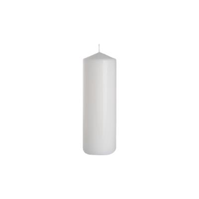 świeca walec 80/250 biały