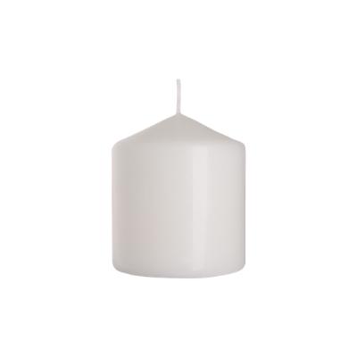 świeca walec 80/90 biały